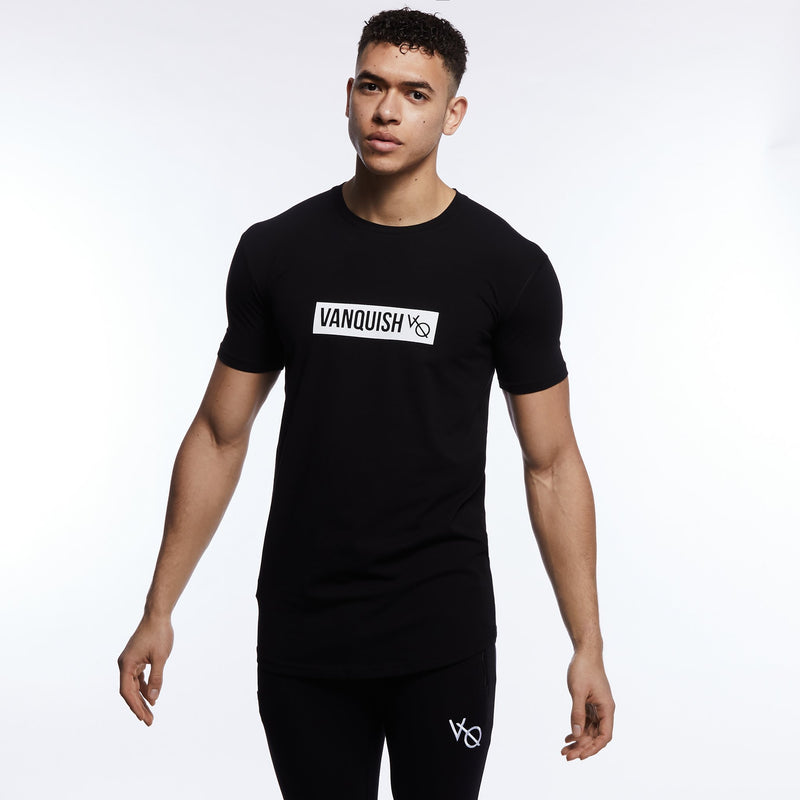 Vanquish Box Logo Black Short Sleeve T Shirt 5枚目の画像