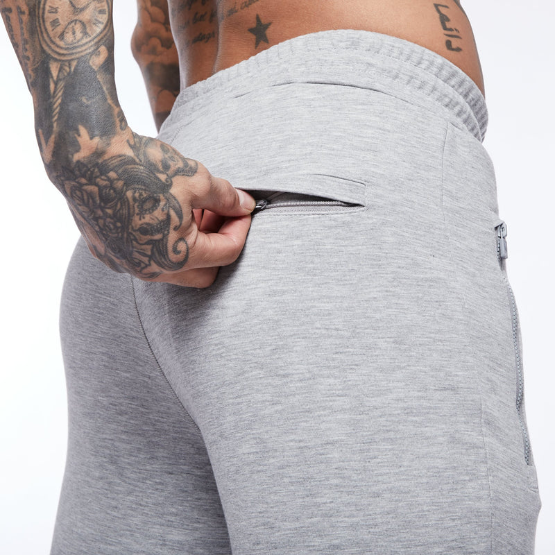 Vanquish Essential Ash Grey Tapered Sweatpants 3枚目の画像