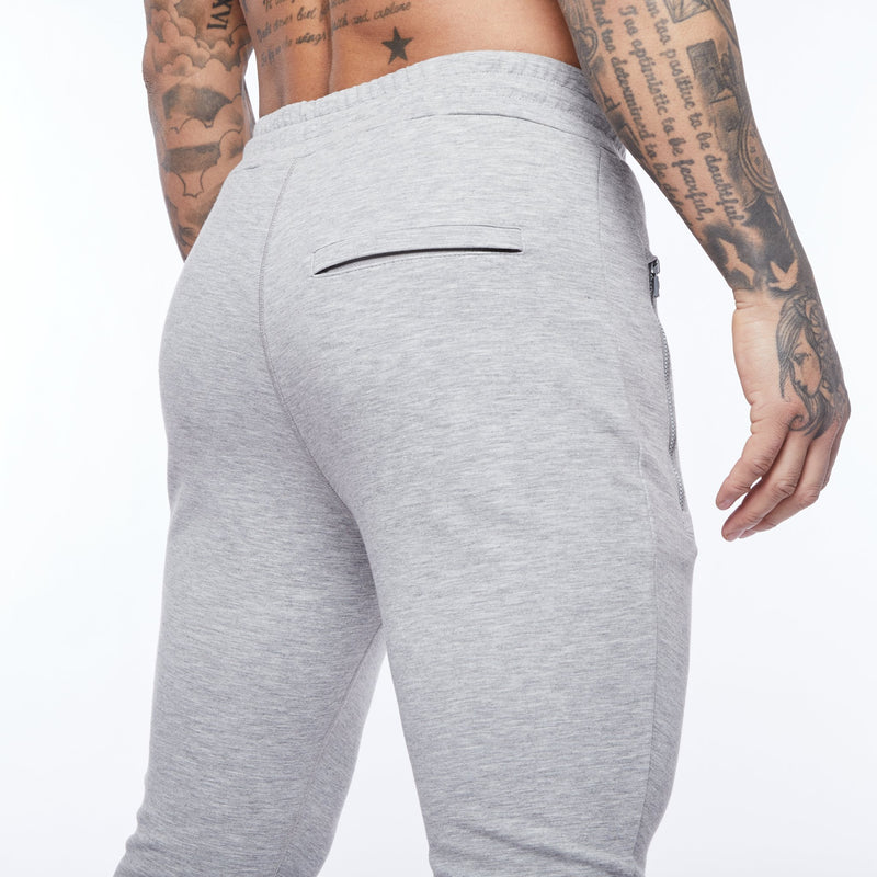 Vanquish Essential Ash Grey Tapered Sweatpants 4枚目の画像