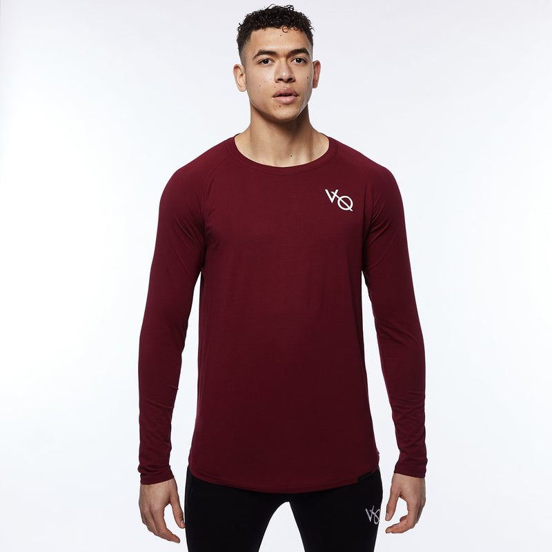 Vanquish Essential SP Burgundy Long Sleeved T Shirt 1枚目の画像