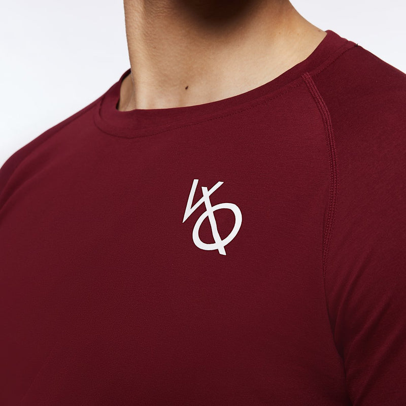 Vanquish Essential SP Burgundy Long Sleeved T Shirt 2枚目の画像