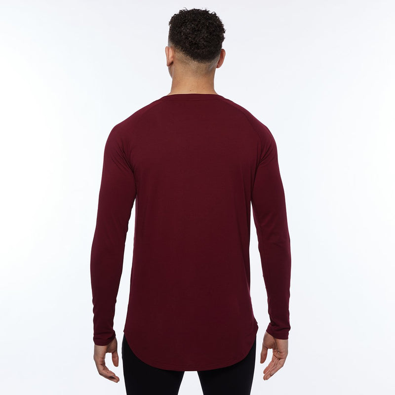 Vanquish Essential SP Burgundy Long Sleeved T Shirt 4枚目の画像