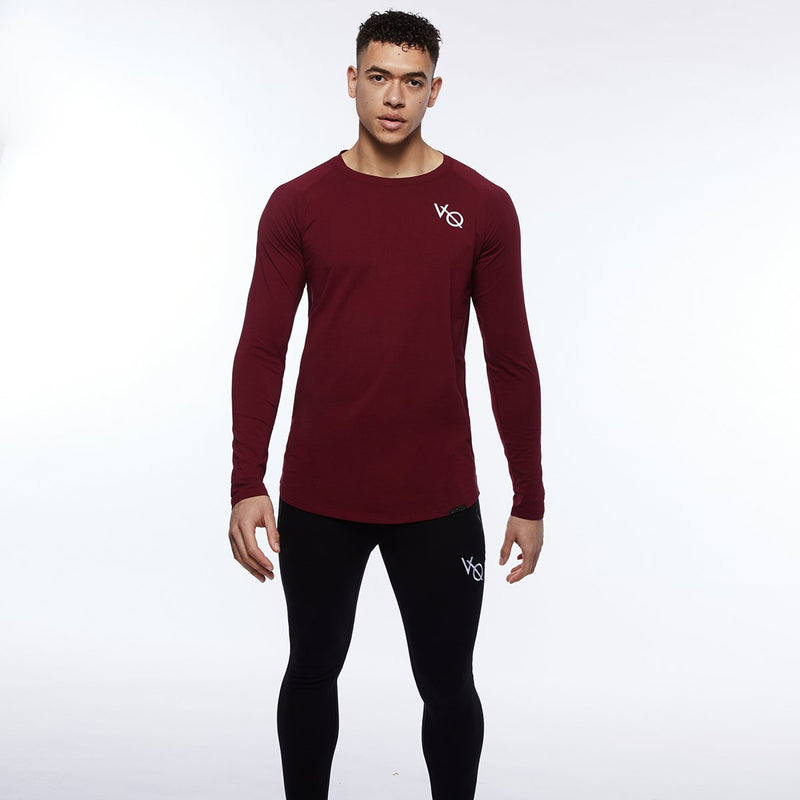 Vanquish Essential SP Burgundy Long Sleeved T Shirt 5枚目の画像