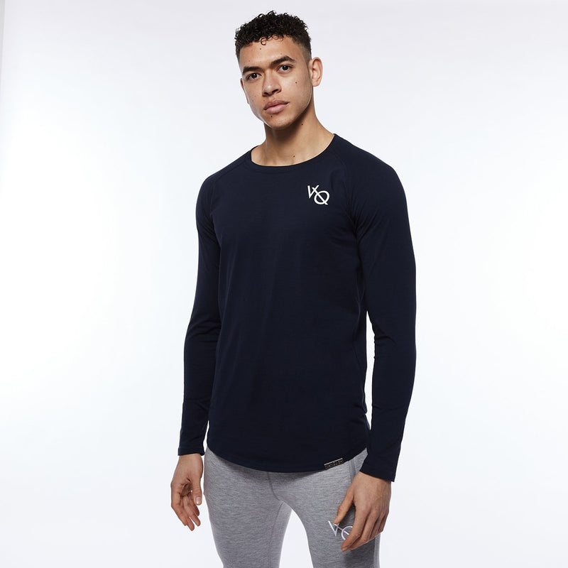 Vanquish Essential SP Navy Long Sleeved T Shirt 1枚目の画像
