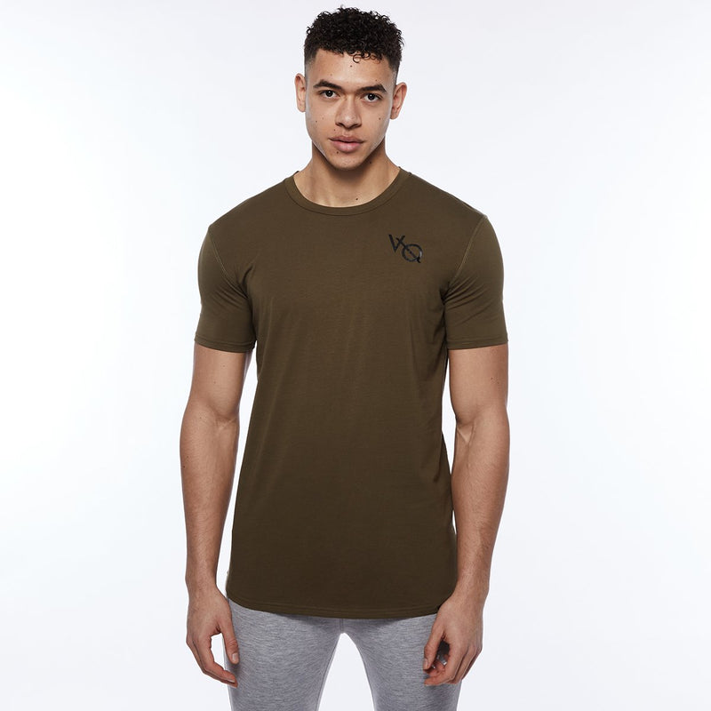 Vanquish Essential SP Olive Short Sleeved T-Shirt 1枚目の画像