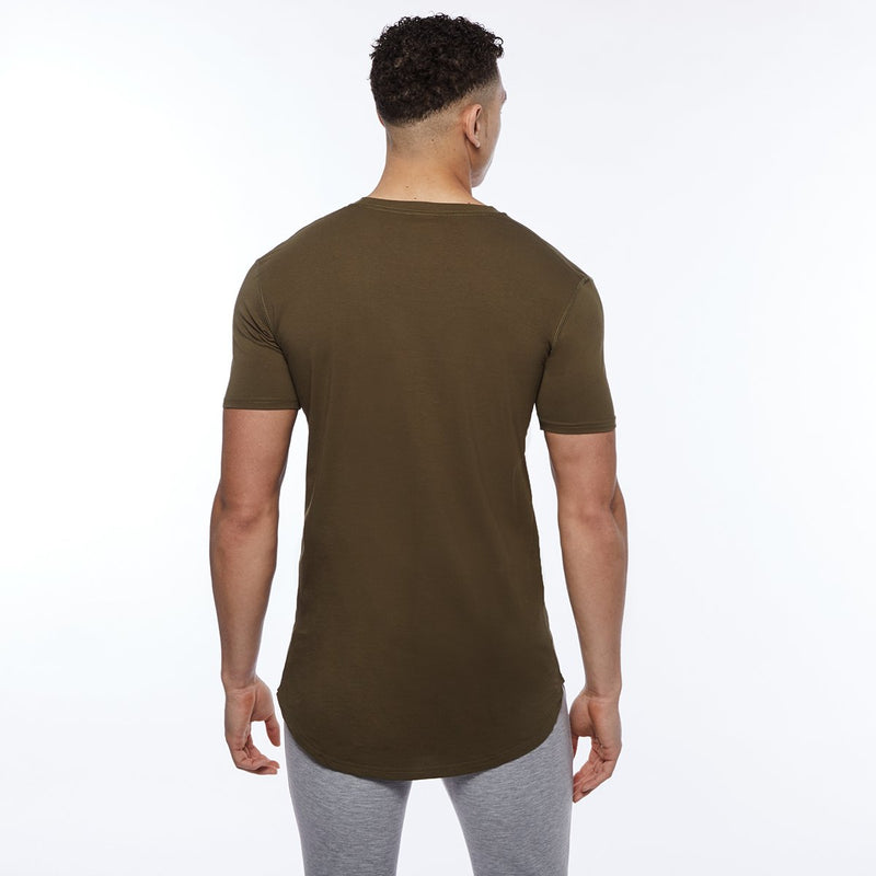 Vanquish Essential SP Olive Short Sleeved T-Shirt 4枚目の画像