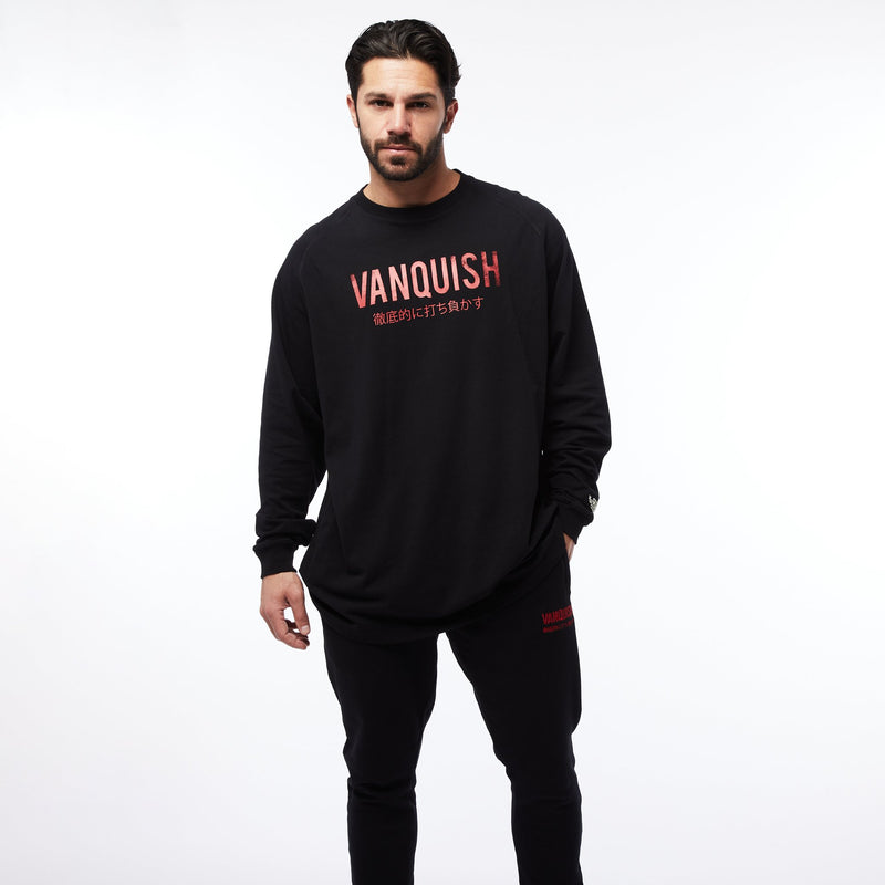 Vanquish Warm Up Project Japan Oversized Long Sleeve T Shirt 5枚目の画像
