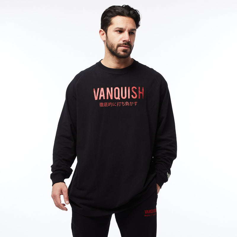 Vanquish Warm Up Project Japan Oversized Long Sleeve T Shirt 1枚目の画像