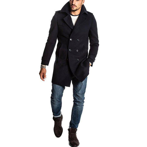 Elegant Men's Casual Coat