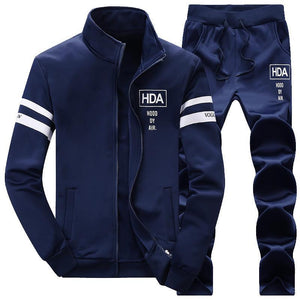 Men's Big Size Trend Casual Sports Suit