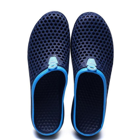 Beach nest breathable soft bottom casual slippers
