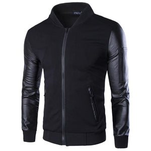 Stand Collar Mens Fashion Jacket