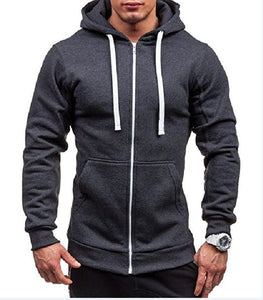 Men's Solid Color Casual Sweater