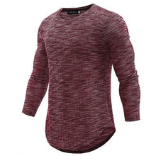 Load image into Gallery viewer, High Quality Casual Round Neck Long Sleeve T-Shirts