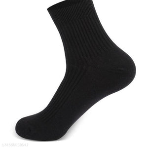 Soft Casual Sport Plain Previous Cotton Socks