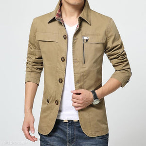 100% Cotton Mens Jacket