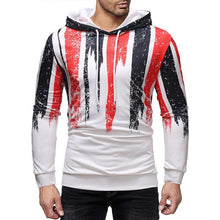 Load image into Gallery viewer, Fashion Color Blocking Slim  Hoodie