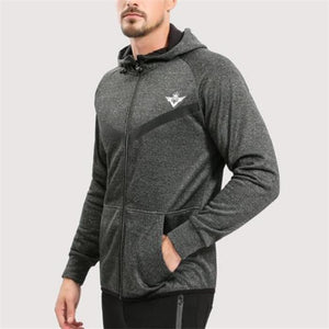 Fashion Casual Sport Thermal Loose Strip Long Sleeve Zipper Outerwear