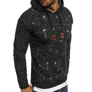 Best Seller Hole Hooded Sweater