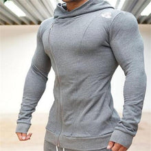 Load image into Gallery viewer, Casual Slim Fit Plain Running Hoodie