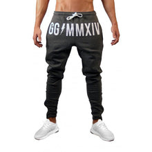 Load image into Gallery viewer, Bravonew Slim Sports Jogger Pants Gray/Black