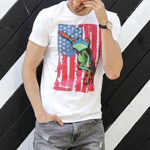 Funny American Pariot Short Sleeve T-Shirt 5 Colors