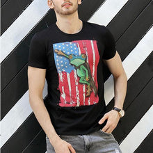 Load image into Gallery viewer, Funny American Pariot Short Sleeve T-Shirt 5 Colors