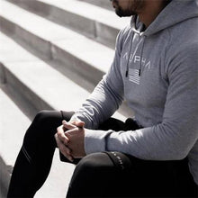 Load image into Gallery viewer, Casual Muscle Boy Sport Slim Hoodie