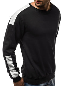 Casual Round Collar Split Joint Floss Hoodie