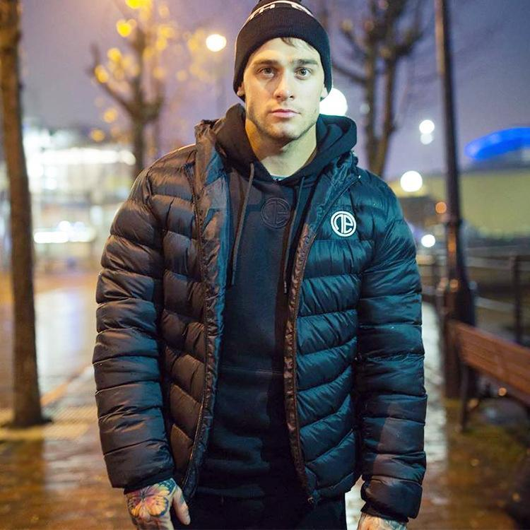 Casual Winter Plain Running Down Jacket