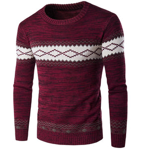 Ethnic Style Warm Sweater