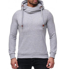 Load image into Gallery viewer, Solid Color Heap Collar Hoodie