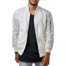 Load image into Gallery viewer, Fashion Casual Youth Slim Plain Zipper Long Sleeve Men Outerwear