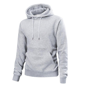 Plain Pullover Hoodie 4 Colors