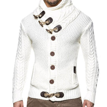 Load image into Gallery viewer, Solid Color Slim Front Button-Knit Coat
