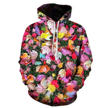 Load image into Gallery viewer, Fashion Rose Printed Hoodie