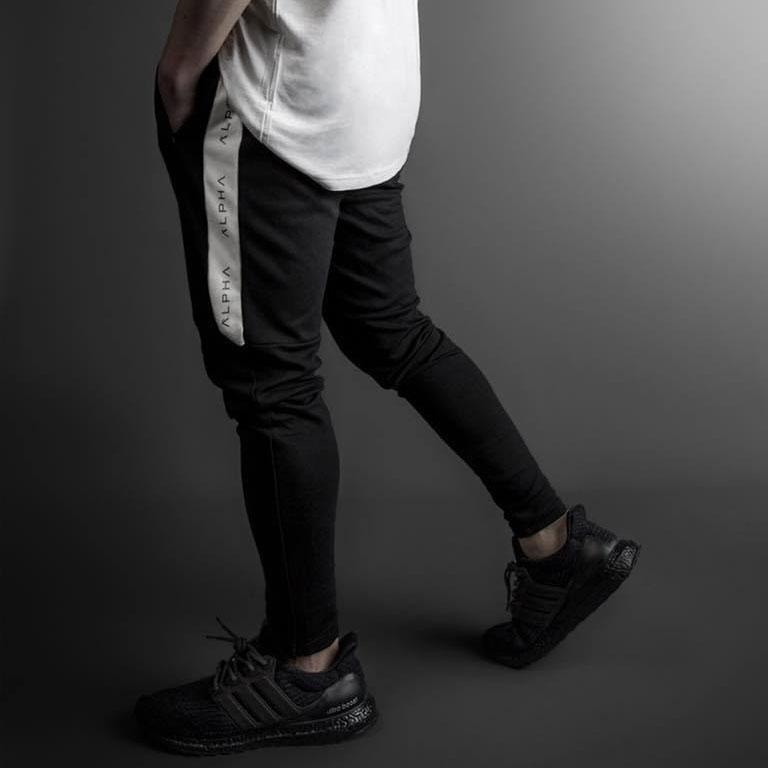 Casual Plain Running Sport Slim Pencil Pants