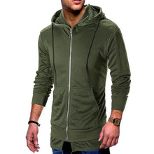 Load image into Gallery viewer, Casual Fashion Slim Solid Color Long Sleeve Men Outerwear