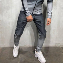 Load image into Gallery viewer, Mens Gradient Zipper Jogger Pants 4 Colors