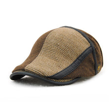 Load image into Gallery viewer, Fashion Classic Knitting Warm Color Block Peaked Cap