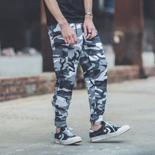 Load image into Gallery viewer, Fashion Street Style Camouflage Printed Hip Pop Jogger Pants