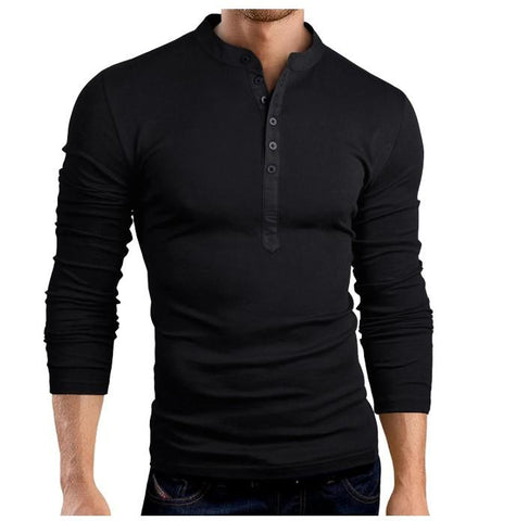 Men Long Sleeve Tops