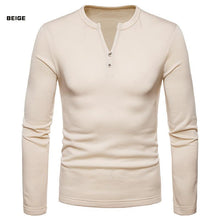 Load image into Gallery viewer, Casual Solid Color Plus-Size Warm Long Sleeve T-Shirt