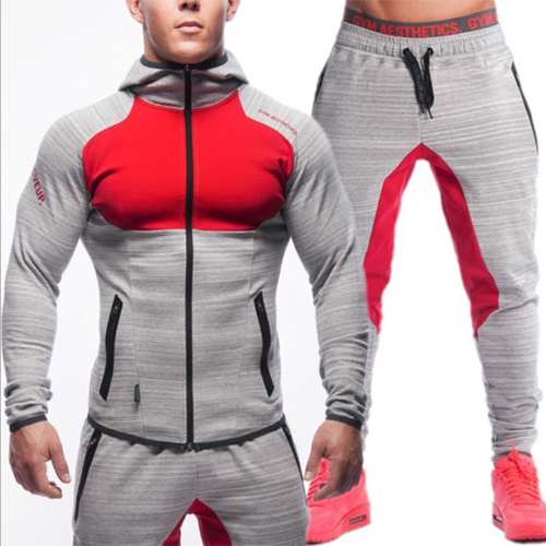 Fitness Sports Zipper Running Casual Fashion Tracksuit