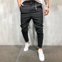 Load image into Gallery viewer, Casual Plain Slim Zippr Pencil Pants