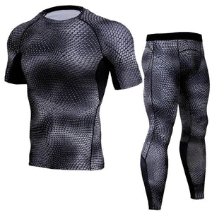 Men's Quick-Drying Fitness Suit