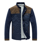 Corduroy Color Matching Casual Jacket