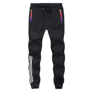 Men's 3-Color Slim Striped Pants