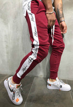 Load image into Gallery viewer, Hip Hop Trend Side Print   Trousers Slim Casual Pants