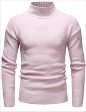 Load image into Gallery viewer, Men's High Neck Casual Sweater